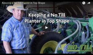 Keeping a No-till Planter in Top Shape