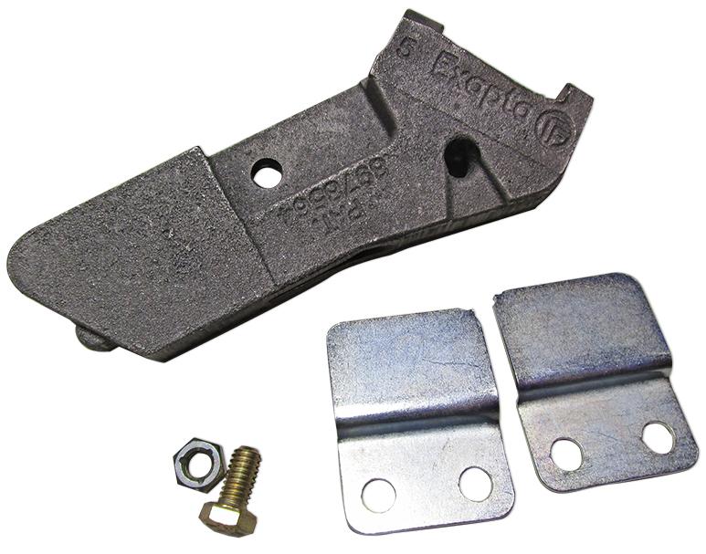 Valion seed-tube guard (chrome alloy) kit, for Deere XP & ME5 (except BrushBelt)
