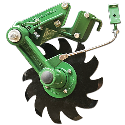 Aricks row cleaner for JD 60/90 drills, Right or Left