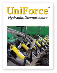 UniForce hydraulic downpressure